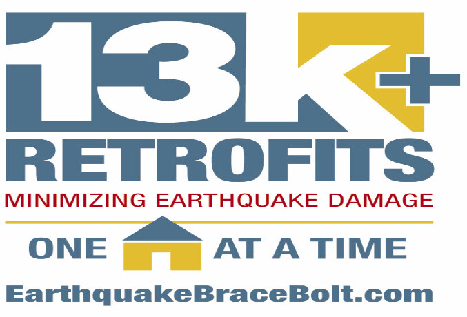 The Brace and Bolt programs provide grants for a specific building-code-compliant seismic retrofit.